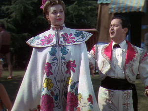 Esther Williams rocking the swimming matador look