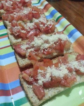 Homemade Bruschetta
