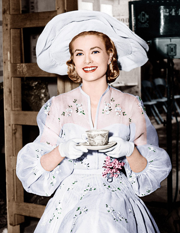 High society grace kelly on set 1956 mister beebop