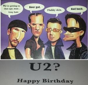 U2 Birthday