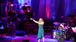 """If we had a spirit animal, it would be Idina."" – Idina Menzel in Manila, 7 June 2015"