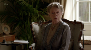 """Why can't men ever paint themselves out of a corner?"" – Downton Abbey Christmas Special 6×09"