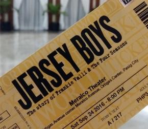 "Jersey Boys – ""Four guys under a street lamp…"""